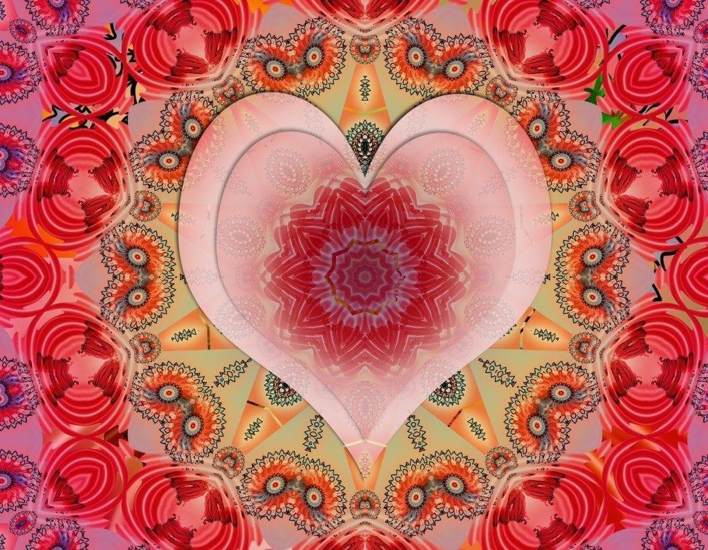 graphic heart design