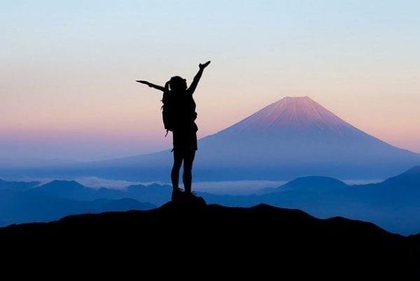 gratitude on a mountain