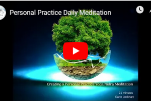 Personal Practice Daily Meditation