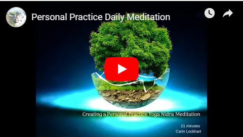 Personal Practice Meditation image