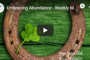 Abundance Intention Meditation