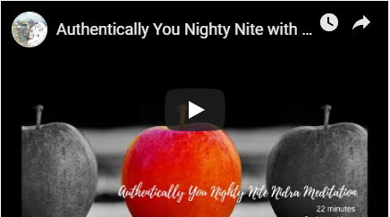 Authentic You Night Nite with Music Meditation image