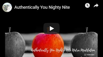 Authentic You Night Nite Meditation image
