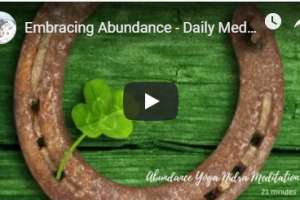 Embracing Abundance Meditation