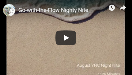 Go with the Flow Night Nite Meditation Image