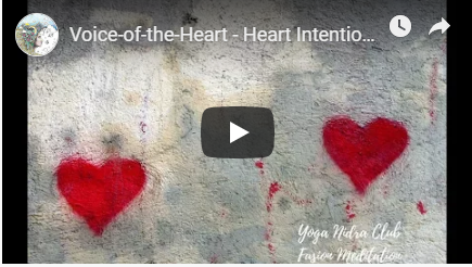 Voice of the Heart set Intention Meditation image