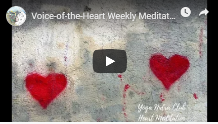 Voice of the Heart Weekly Meditation image