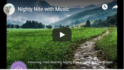 Limitless Potential Nighty Nite w Music meditation image