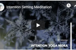 Set Your Own Intention 2