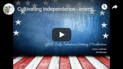 Cultivating independence Meditation Image