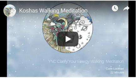 kosha walking meditation image