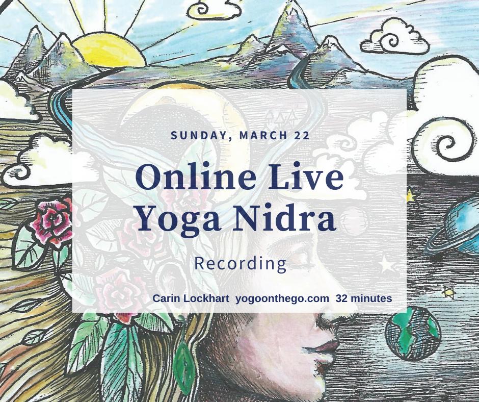 yoga nidra recording